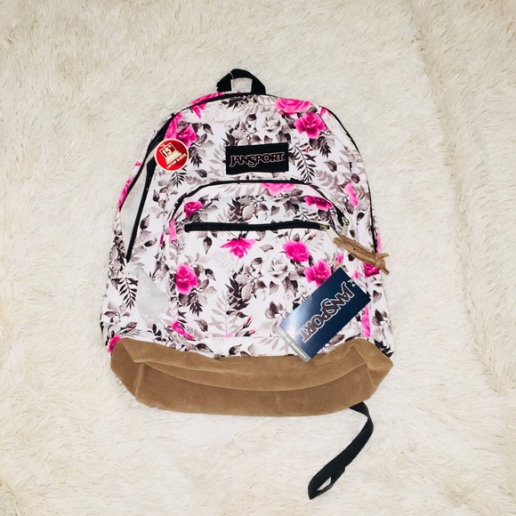 c24b5efa5 Bags | Floral Print Jansport Backpack | Poshmark